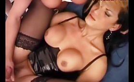 Orgia con due transex