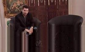 Asia Carrera fottuta sul divano