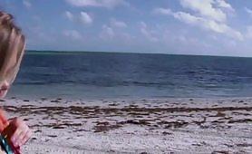 cavalcata di sesso in spiaggia