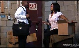 segretaria amante dei cazzi negri