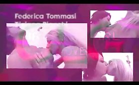 Tiziana Bianchi e Federica Tommasi in scena lesbo