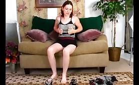 Scena porno amatoriale con giovane in cam